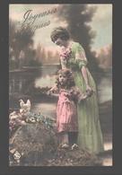 Fantaisie / Fantasy / Fantasie - Joyeuses Pâques - Mère Et Enfant / Moeder En Kind / Child With Mother - Easter