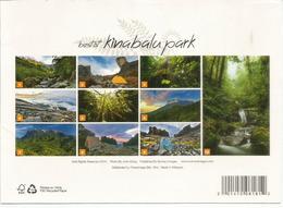 Best Of Kinabalu Park, Carte De Borneo. - Malaysia