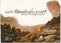 Best Of Kinabalu Park, Carte De Borneo. Unesco World Heritage - Malaysia
