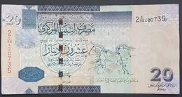 RS - Libya 20 Dinars 2008 Banknote - Libya