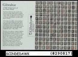 GIBRALTAR - 2015  175th Anniversary Of PENNY BLACK Miniature Sheet - Mint NH - Gibraltar