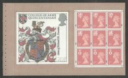 GB 2000 PRESTIGE BOOKLET SPECIAL BY DESIGN MACHIN BOOKLET PANE MNH - 1952-.... (Elizabeth II)
