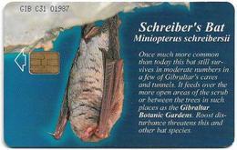 Gibraltar - GNC (Chip) - Schreiber's Bat, 2001, 25U, 3.000ex, Used - Gibraltar