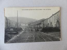 Saulxures-lès-Vannes Rue De Barisey - Frankrijk