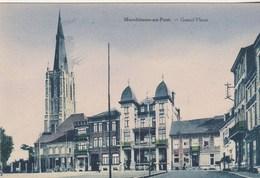 Marchienne-au-Pont.  Grand'Place--ancien Cinema Kursaal--scan. - Belgium
