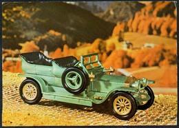 C7237 - Rolls Royce Silver Ghost - ModellautoOldtimer . Verlag Reichenbach DDR - PKW