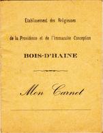 Bois-D'Haine   Carnet Scolaire - Diplômes & Bulletins Scolaires