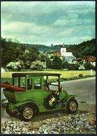 B1222 - TOP Benz Limousine - Modellauto Oldtimer  Verlag Planet DDR - PKW
