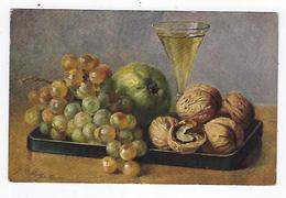 CPA - Fruits - Raisins - Noix - Billing - Fiori, Piante & Alberi