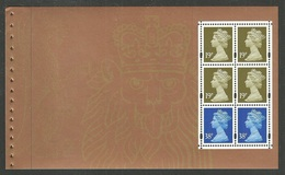 GB 2000 PRESTIGE BOOKLET SPECIAL BY DESIGN MACHIN MIXED VALUES BOOKLET PANE MNH - 1952-.... (Elizabeth II)
