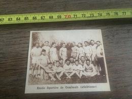 19321933 M EQUIPE DE ATHLETISME ETOILE SPORTIVE DE COMBAULT - Collections