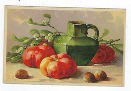 CPA - Fruits - Tomates - Noisettes - Union Postale Universelle - Fiori, Piante & Alberi