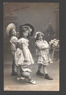 Fantaisie / Fantasy / Fantasie - Children - Bonné Année - 1907 - Glossy - Scènes & Paysages