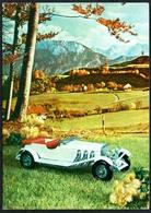 C7240 - Mercedes 36/220 - Modellauto Oldtimer  Verlag Reichenbach DDR - PKW