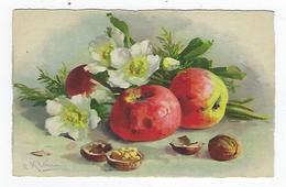 CPA - Fruits - Pommes - Noix - Klein - Fiori, Piante & Alberi