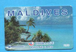 MALDIVES GPT Phonecard 109MLDB - Maldive