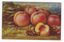 CPA - Fruits - Pêches - BR - Pêche - Fiori, Piante & Alberi