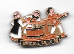 Pin' S  Département, Sapeurs  Pompiers  AMICALE  S.D.I.S  90 - TGV
