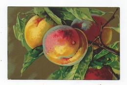 CPA - Fruits - Pêches - Artistica Veluto - Pêche - Fiori, Piante & Alberi