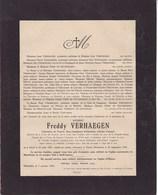 40-45 THORN Hollande 26 Septembre 1944 Freddy VERHAEGEN Sous-Lieutenant Gand 1921 Brigade Belge - Décès
