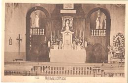 30) HELSHOVEN - Kapel - Binnenzicht - Sint-Truiden