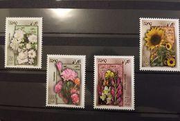 Iraq Flora Fauna Flower MNH 2012 Stamp Set - Iraq