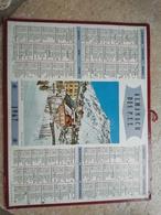 1967 - ALMANACH DES P.T.T OBERTHUR - 92 HAUTS DE SEINE - 1967 HIVER EN OISANS - Calendriers
