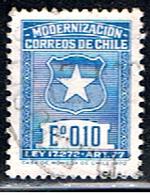 CHILI 313 // YVERT 345A // 1970 - Chile