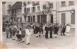 Bulle Fête Dieu 1935 - Café Du Marché - - FR Fribourg