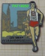 ATHLETISME  Les 100 KM De La DIVISION LECLERC Sponsor CITROEN   Arc De Triomphe En Version BALLARD Avant Dorure - Athletics