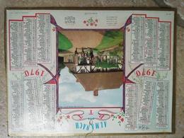 1970 - ALMANACH DES P.T.T CALENDRIERS OLLER - 91 ESSONNE - 1970 - JEUNES ECUYERS - Calendriers