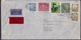 Deustche Bundespost - 1959 - Brief - Verschiedene Briefmarken - [7] République Fédérale