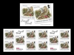 Falkland Islands 2019 Mih. 1344II Definitive Issue. Fauna. Small Birds (booklet) MNH ** - Islas Malvinas