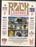 NEW ZEALAND, 2019, MNH,ROCK FORMATIONS, SHEETLET - Géologie