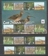 COOK ISLANDS - MNH - Animals - Birds - WWF - Birds