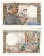 "Billet 10 Francs "" Mineur "" 1947 Tbe - 1871-1952 Anciens Francs Circulés Au XXème"