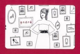 Carte Cadeau.   Chaussures ANDRE.   Gift Card. - Cartes Cadeaux