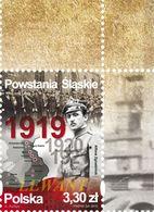 2019.08.16. Silesian Uprisings + Margin - MNH - 1944-.... Republic
