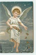 N°13141 - Ange Semant Des Fleurs - Engel