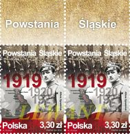 2019.08.16. Silesian Uprisings 2v + Margin - MNH - 1944-.... Republic