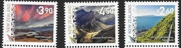 NEW ZEALAND, 2019, MNH,SCENIC DEFINITIVES, MOUNTAINS, SCENERY,3v - Geography