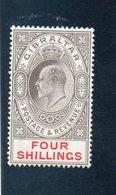 GIBRALTAR 1906-11 * - Gibraltar