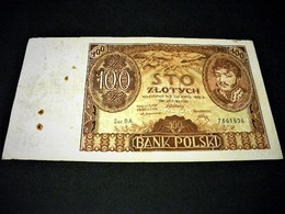 POLOGNE 100 Zlotych  0/06/1932, Pick N° 74 A, POLSKA, POLAND - Polen