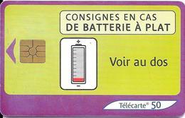 TC-PUBLIC-F1272-50U-GEM2-04/03--BATTERIE 2-UTILISE-TBE - Frankrijk