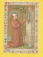 IMAGE PIEUSE HOLY CARD SAINT AUGUSTIN BRUGES BRUGGES  FELIX DE NICOSIE NICOSIA FELICE - Religion & Esotericism