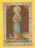 IMAGE PIEUSE HOLY CARD SAINT AUGUSTIN BRUGES BRUGGES SAINTE PHARAILDE GAND - Religione & Esoterismo
