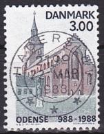 Denmark/1988 - AFA 906 - 3.00 Kr - USED/'HADERSLEV' - Denmark
