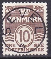 Denmark/1937 - AFA 235 - 10 ø - USED/'SEVEL' - 1913-47 (Christian X)