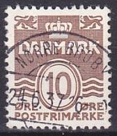 Denmark/1937 - AFA 235 - 10 ø - USED/'NØRRE BROBY' - 1913-47 (Christian X)