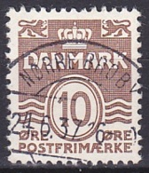 Denmark/1937 - AFA 235 - 10 ø - USED/'NØRRE BROBY' - Used Stamps